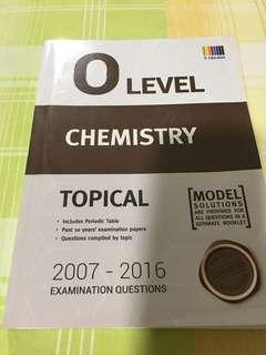 O Level Chemistry TYS 2007-2016