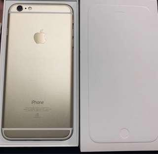 🚚 iPhone 6plus 16G 保存完整📱金色 送耳機 針