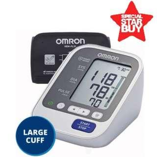 🚚 Large Cuff - Automatic Omron BP Monitor - HEM 7130 L - 60 Memories with Date and Time - Brand New