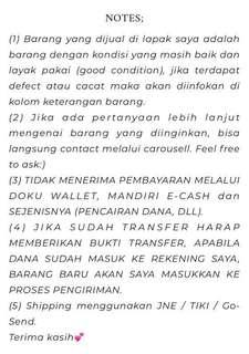 Terms & Conditions✨