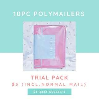 10pcs Polymailers Incl NM @ $3