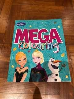 Children's Frozen Coloring Book