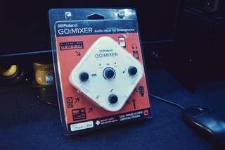 🚚 ROLAND  GO:MIXER  8in/2 out手機混音器