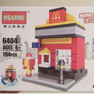Fast Food Restaurant (194pcs)