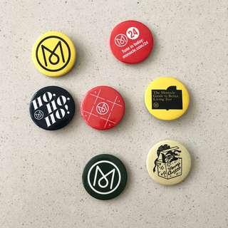 Monocle Badges / Pin