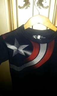 Captain america marvel tshirt #1010