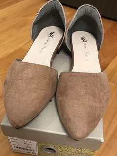 ORIENTAL TRAFFIC Flat shoes / pumps (beige) Size 39