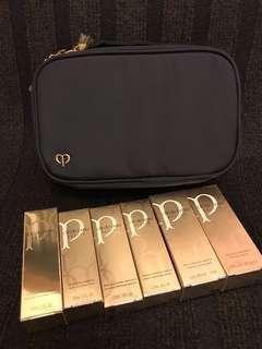 cdp cle de peau 6件sample庄連精美化妝袋