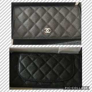 Chanel Caviar Long Wallet