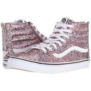 Vans Sk8 Hi glitter shoes women's 6.5 brand new