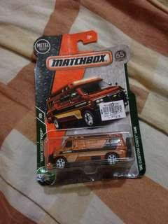 Authentic Matchbox Van