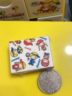 Sanrio PJ Patty & Jimmy 1976 迷你盒 (包平郵)