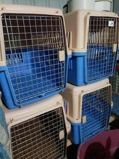 大型犬飛機籠1個150元