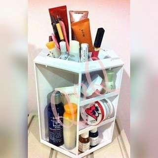 旋转化妆盒