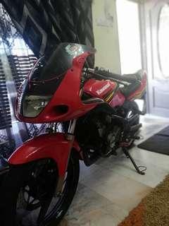 Kawasaki rr150 reg year 2014