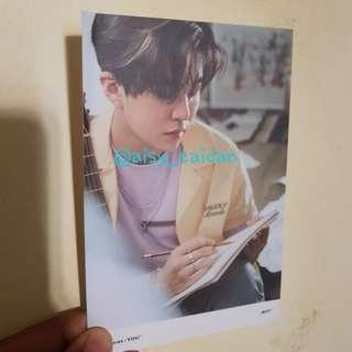 Youngjae GOT7 - Present : You Lyrics Card Official