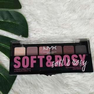 NYX Soft & Rosy Eyeshadow palette #1010
