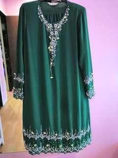 Baju Kurung Modern hijau