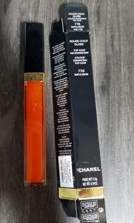 Chanel coco gloss- color enhancing top coat