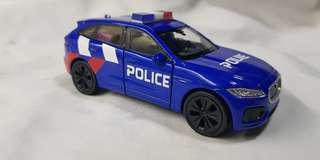 1:38 diecast Jaguar F-Pace in New SPF Livery