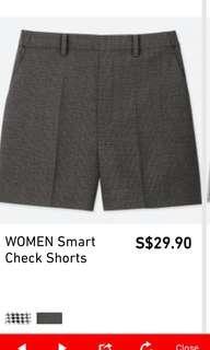 BNWT Uniqlo Women Shorts with elastic back