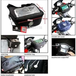 Handlebar bag GPS motorcycle Pouchbag Tams Bag