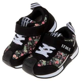 日本IFME緹花黑色透氣機能波鞋
