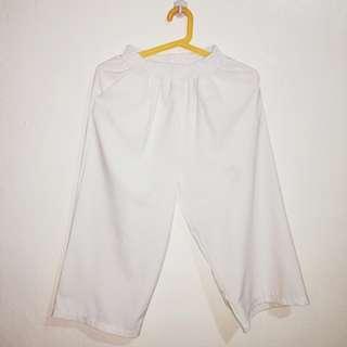 White square pants