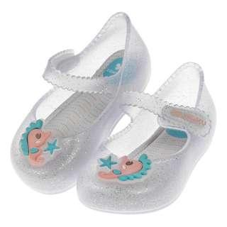ZAXY夢幻海洋小海馬銀色BB香香鞋