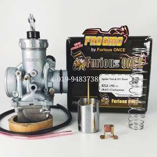 Carburetor RXZ 150cc Slide TZM, Y125Z LC135 EX5 W125 TS125  KR150 RR