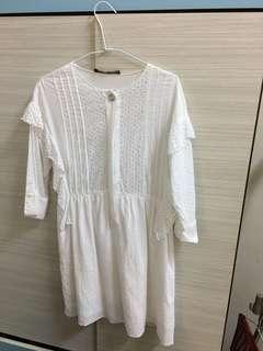 🚚 Zara蕾絲洋裝