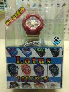 🚚 Lotus 多功能防水運動電子錶