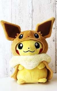 比卡超 伊貝 公仔 Pokemon 特別版