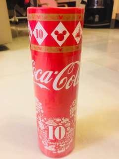 香港迪士尼樂園10週年『可口可樂』紀念樽