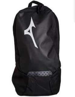 Brand New Authentic Black Mizuno Athelete Style Backpack