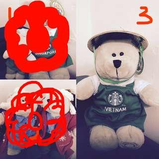 Starbucks Bearista CLEARANCE Vietnam, Singapore & Malaysia #UNDER90