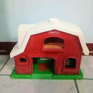 Preloved Fisher Price Little People House