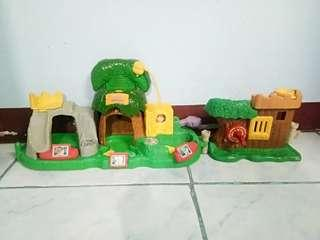 Preloved Fisher Price Jungle Forest