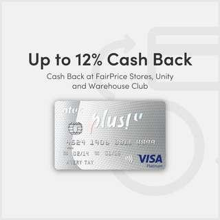 NTUC Plus! Visa Credit Card