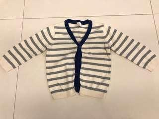 H&M knitted cardigan size 80 9-12m