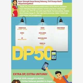 Promo handphone vivo 0%