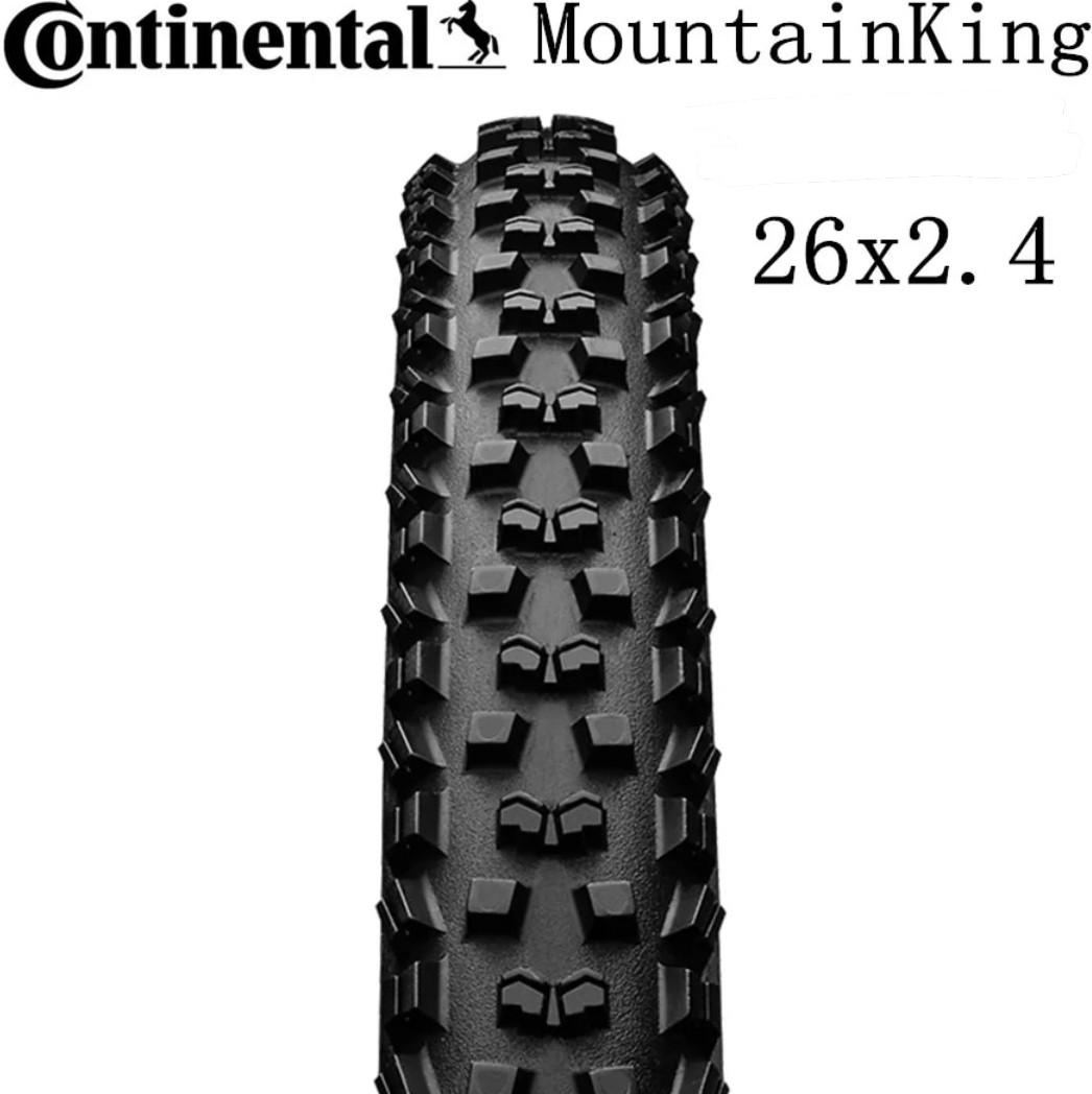 264c22d7673 🆕! Continental 26 X 2.4 Mountain King Race Sport MTB Folding Tyres ...