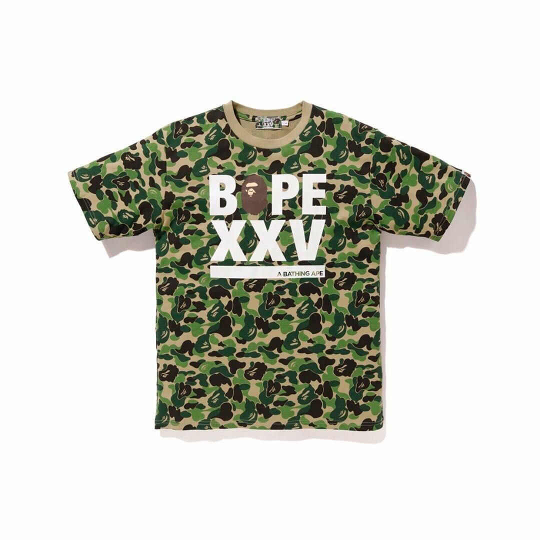 2030495249b6 A Bathing Ape Bape xxv 25th anniversary tee