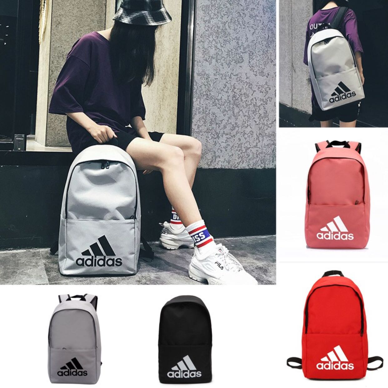 6fc67d58be Adidas campus backpack