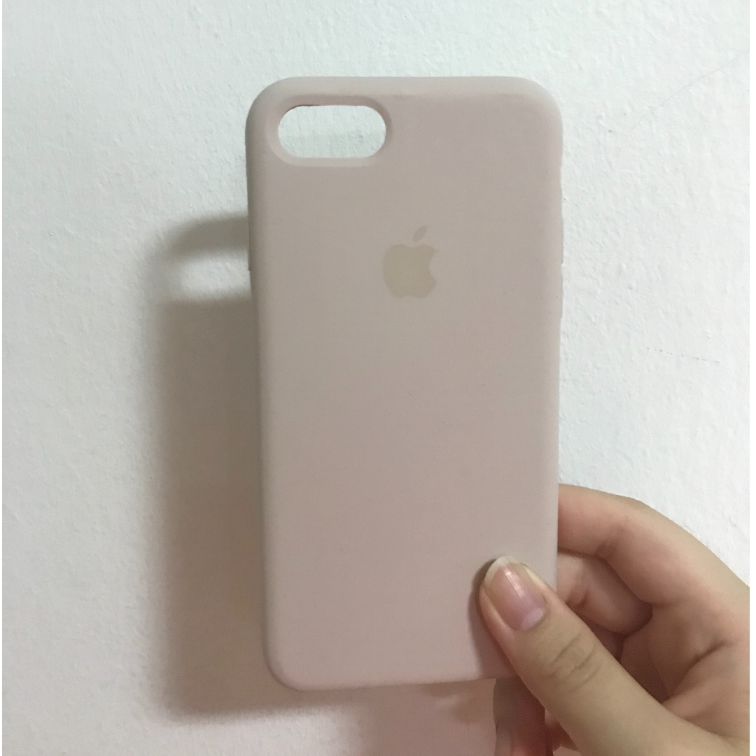 quality design 7c9ca a5936 Apple Iphone 7/8 silicone case (Sand pink)