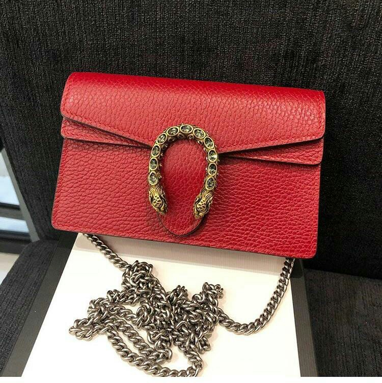 d24cfa6aa Authentic]Gucci Dionysus Leather Mini Bag, Luxury, Bags & Wallets ...