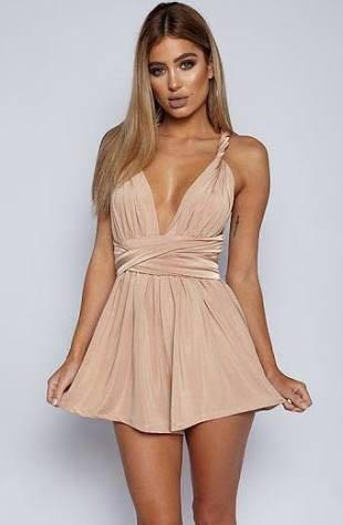 babyboo new directions multiway gold playsuit, Women's