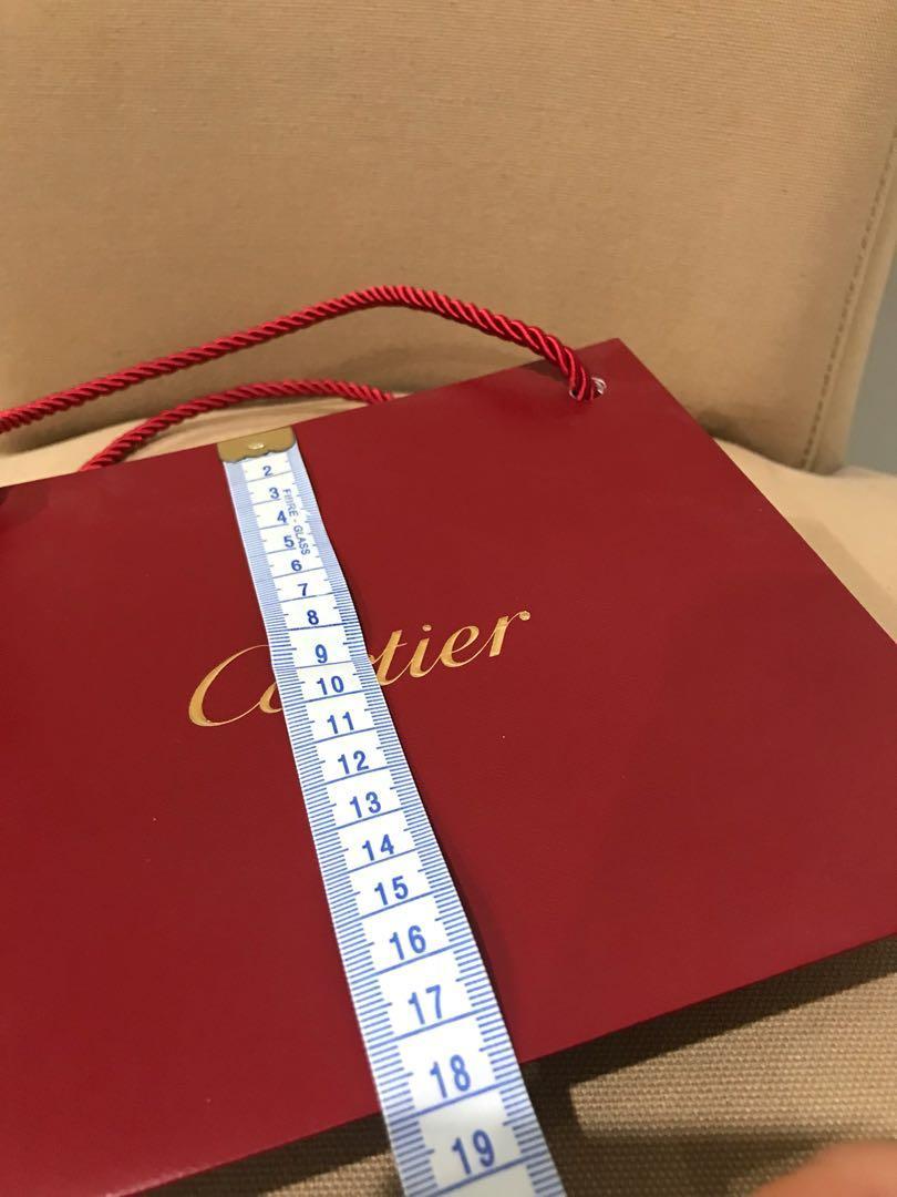 Cartier shopping bag
