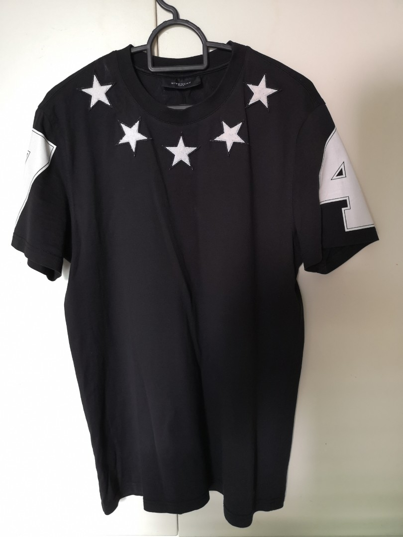 414314b2c6d92a Discontinued Authentic Givenchy Star 74 tee shirt, Men's Fashion ...