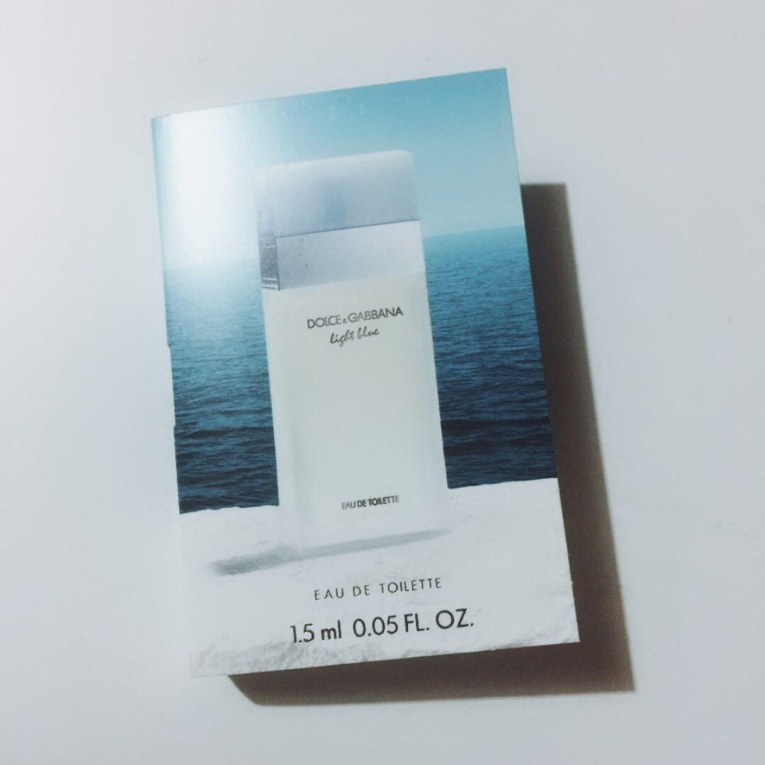 Dolce & Gabbana Light Blue EDT 1.5ML, Health & Beauty, Perfumes & Deodorants on Carousell